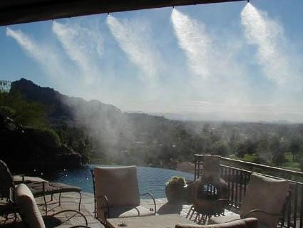 Lắp máy phun sương giá rẻ tại quận 8,tp.hcm
