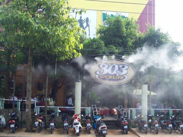 Lắp đặt hệ thống máy phun sương giá rẻ quận Gò Vấp Hồ Chí Minh