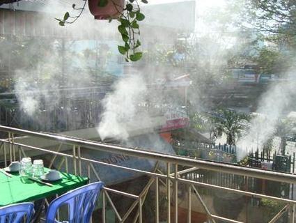 Lắp đặt máy phun sương làm mát giá rẻ tại quận bình thạnh- tp.hcm