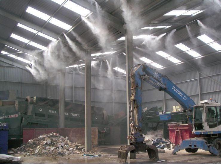 Lắp đặt máy phun sương làm mát giá rẻ tại quận tân phú -tp.hcm