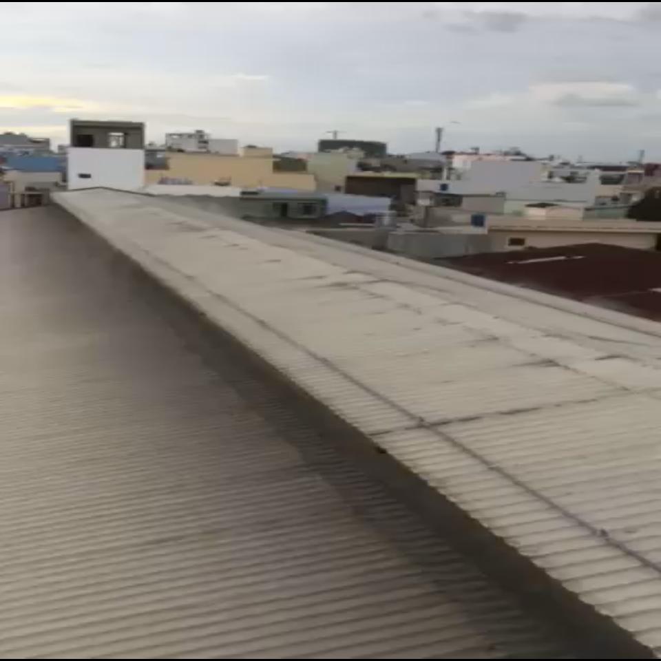 Hệ thống phun nước mái tôn cho nhà Xưởng tại quận 1, HCM
