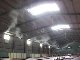 Lắp đặt hệ thống phun sương mái tôn tại Hồ Chí Minh