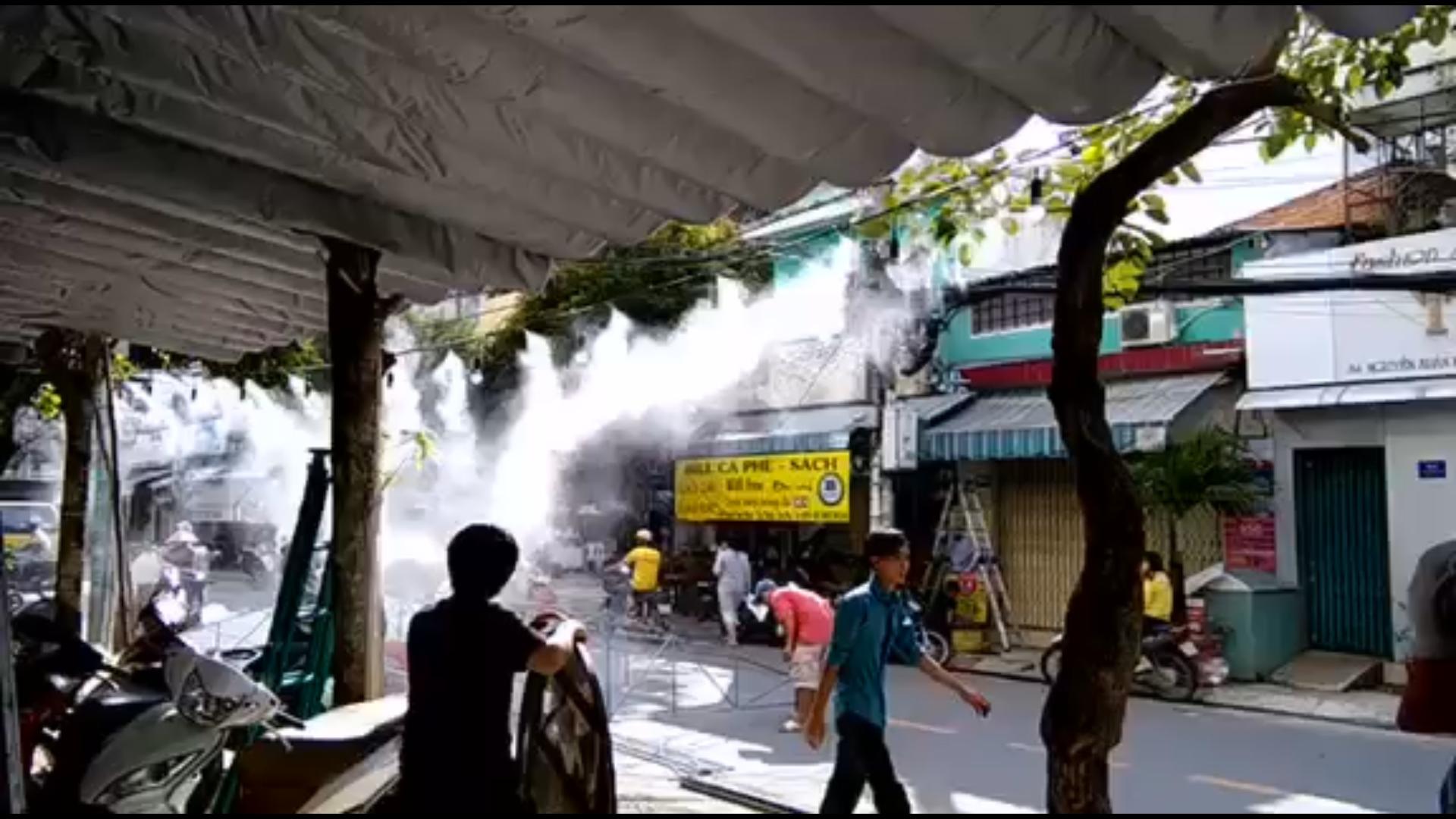 Máy phun sương cho quán Caffe quận Phú Nhuận