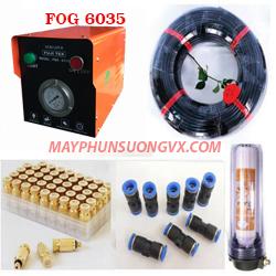 Trọn bộ máy phun sương FUJITEX 6035 – 30 béc phun đế nhựa