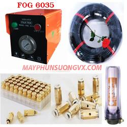 Trọn bộ máy phun sương FUJITEX 6035 – 30 béc phun đế đồng