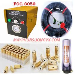 Trọn bộ máy phun sương FUJITEX 6050 – 45 béc phun đế đồng