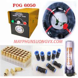 Trọn bộ máy phun sương FUJITEX 6050 – 45 béc phun nhựa