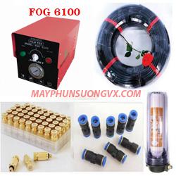Trọn bộ máy phun sương FUJITEX 6100 – 70 béc phun đế nhựa