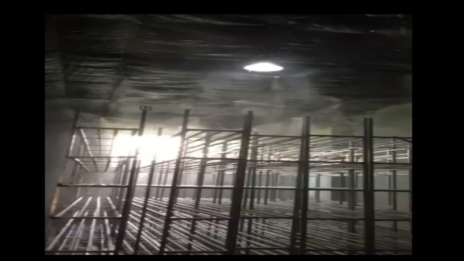 Lắp đặt máy phun sương nhà nấm quận 5