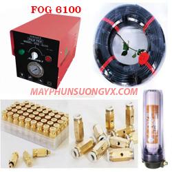 Trọn bộ máy phun sương FUJITEX 6100 – 70 béc phun đế đồng
